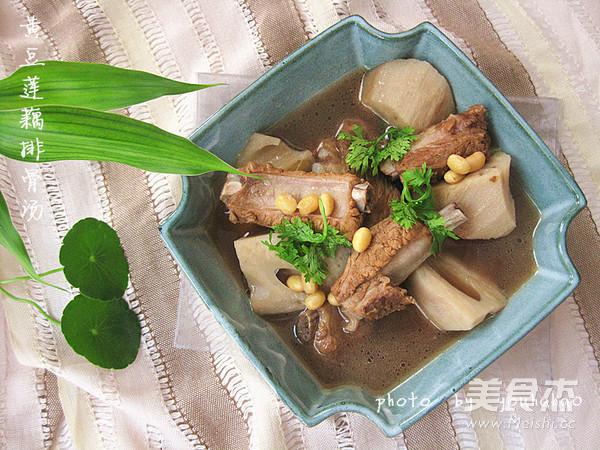 黄豆莲藕排骨汤怎么煮