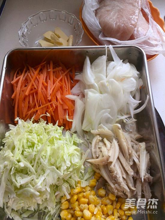 绿咖喱鸡肉卷的做法大全