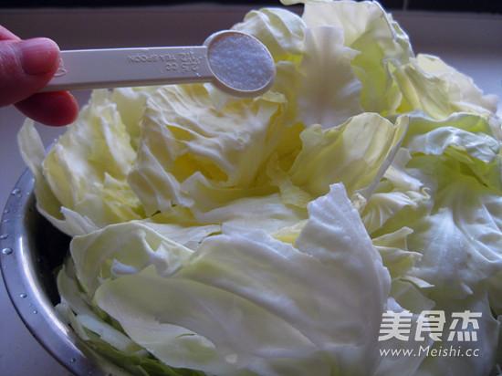 黄金卷心菜泡菜的家常做法