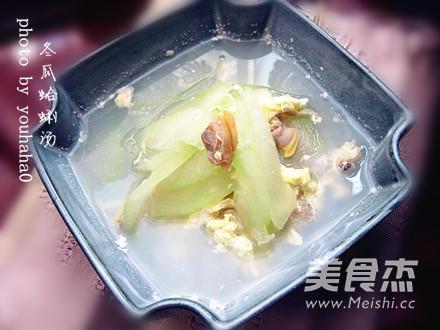 冬瓜蛤蜊汤成品图