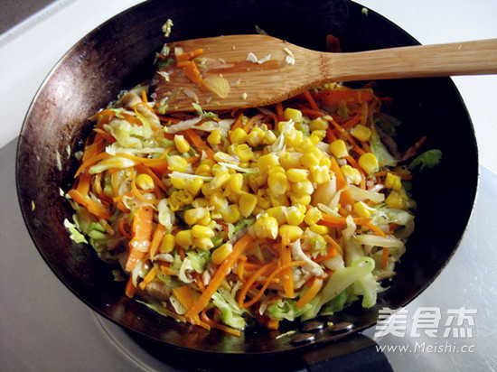 绿咖喱鸡肉卷怎么吃