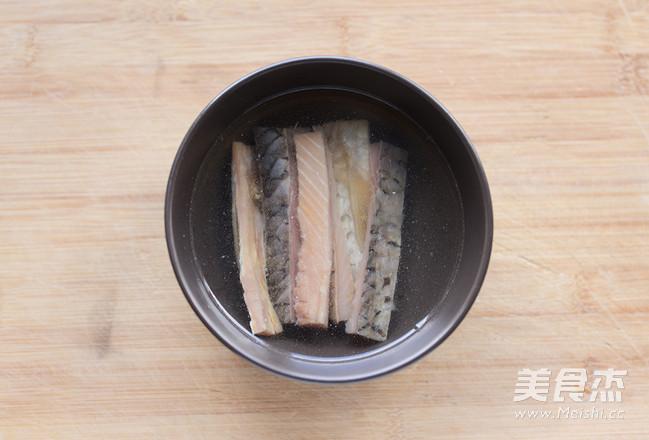 咸鱼蒸肉的步骤