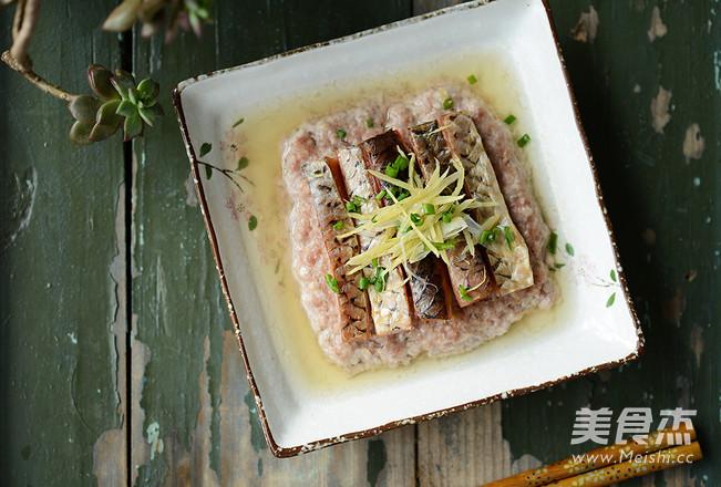 咸鱼蒸肉成品图