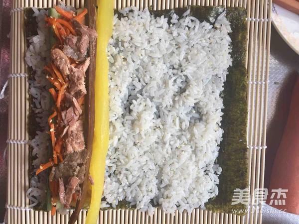 金枪鱼紫菜包饭怎么炒