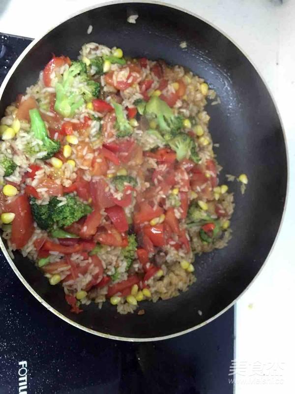 蔬菜营养芝士焗饭的家常做法