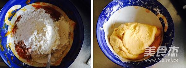 紫薯南瓜饼的家常做法