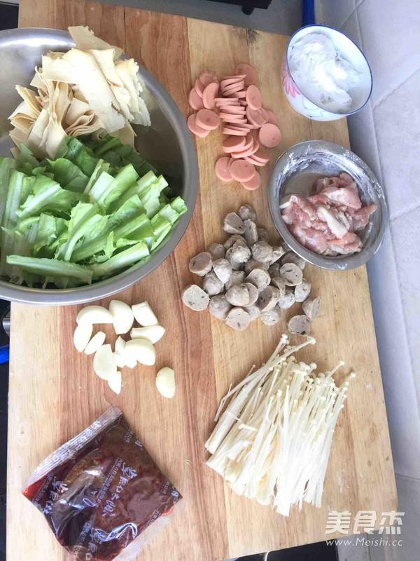 家庭麻辣香锅的做法大全