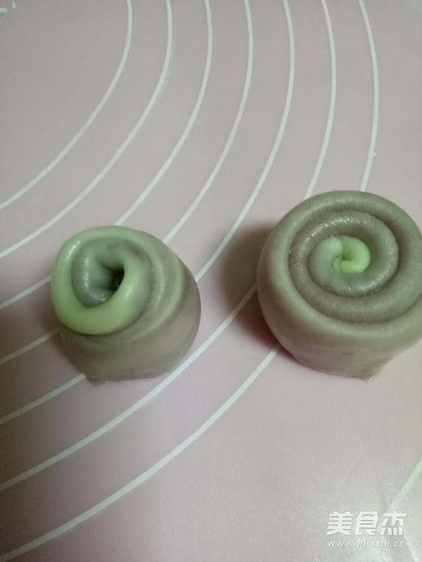 紫薯豆沙酥的制作方法