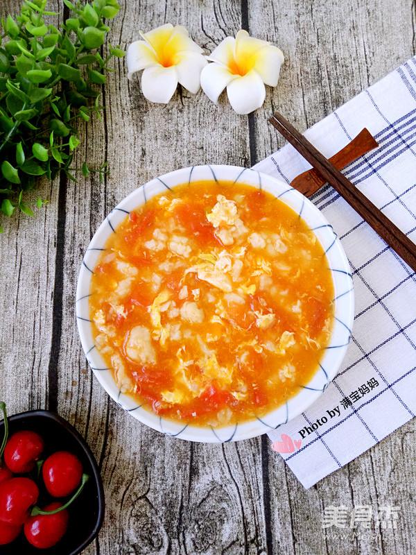 西红柿鸡蛋疙瘩汤怎样炖