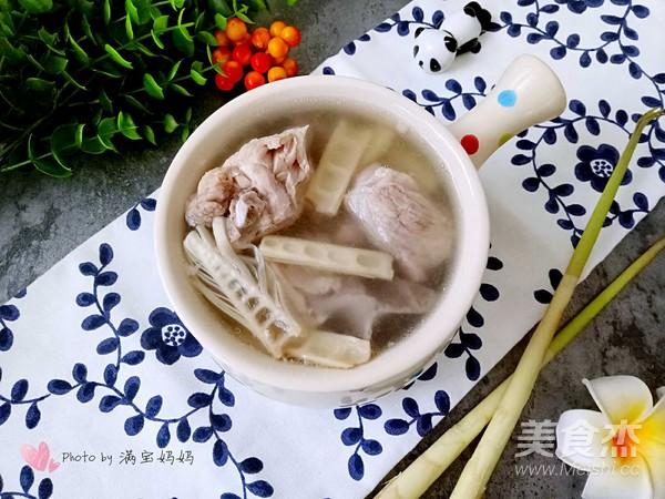 竹笋排骨汤成品图