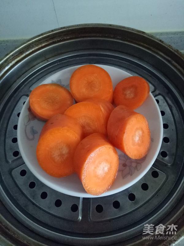 胡萝卜宝宝面片的做法大全