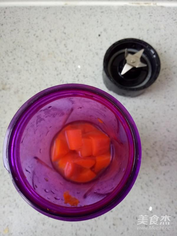 胡萝卜宝宝面片的做法图解