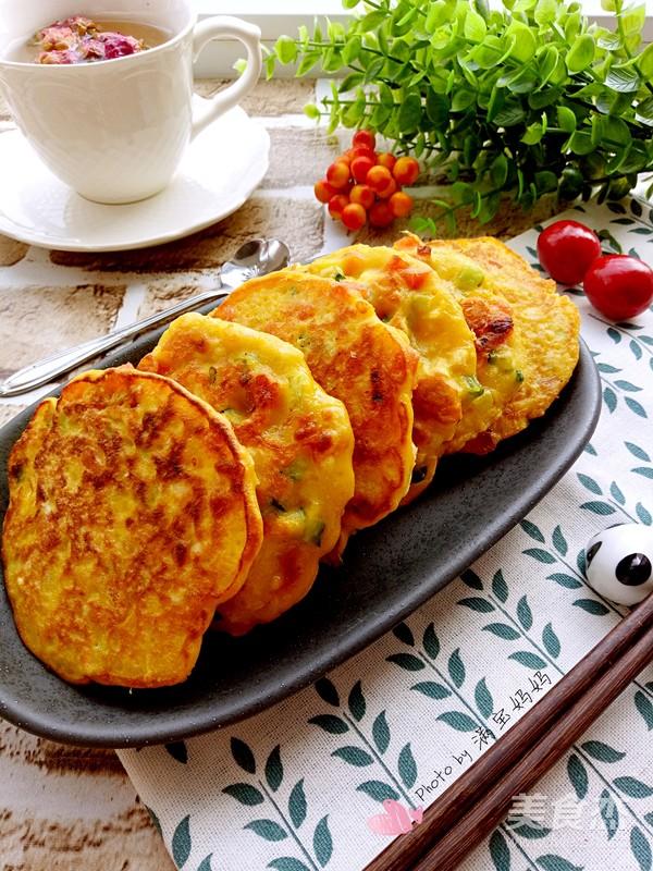 蛋香白薯饼怎样煮