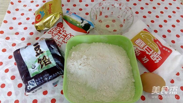 豆沙花朵面包的做法大全