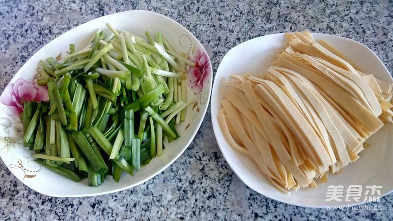 韭菜炒千张的做法图解