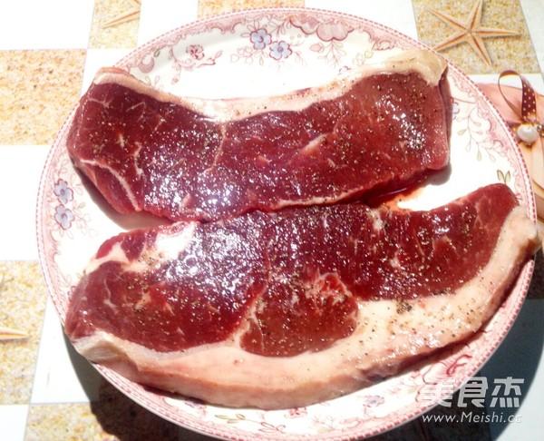 香煎黑椒牛排的做法大全
