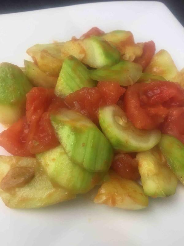 西葫芦炒番茄怎么煮