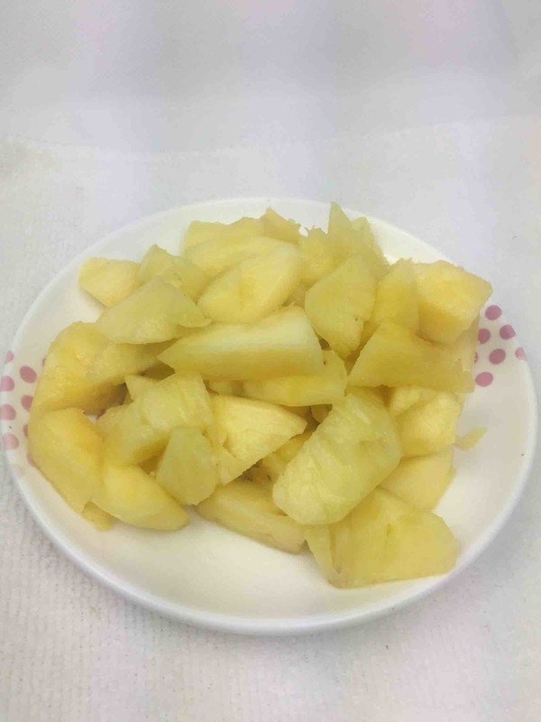 菠萝炒肉的家常做法