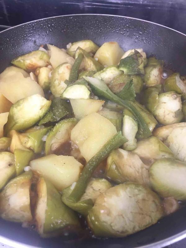 茄子炖土豆怎么煮