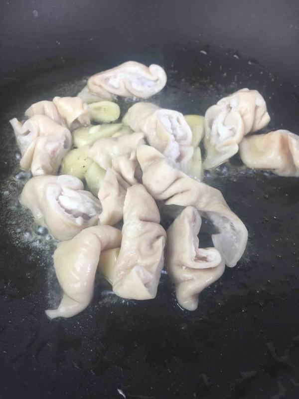 青椒炒猪大肠怎么吃