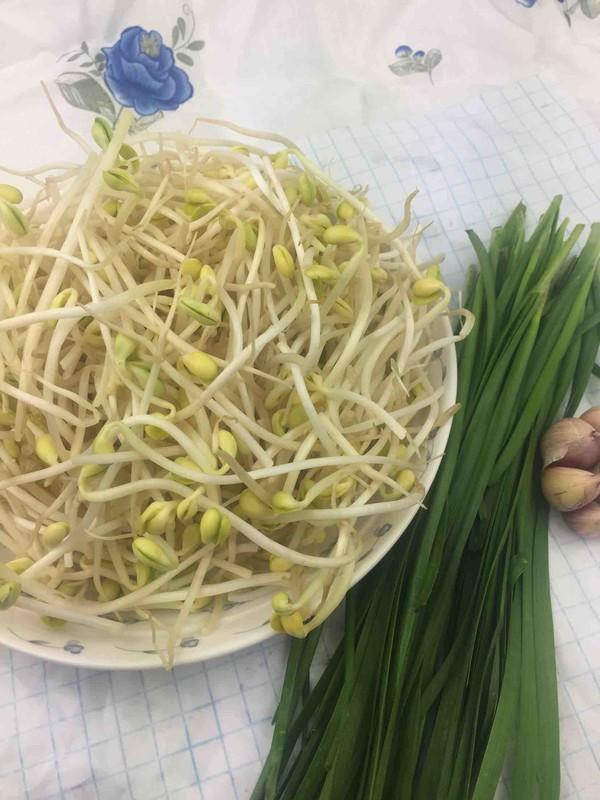 豆芽炒韭菜的做法大全
