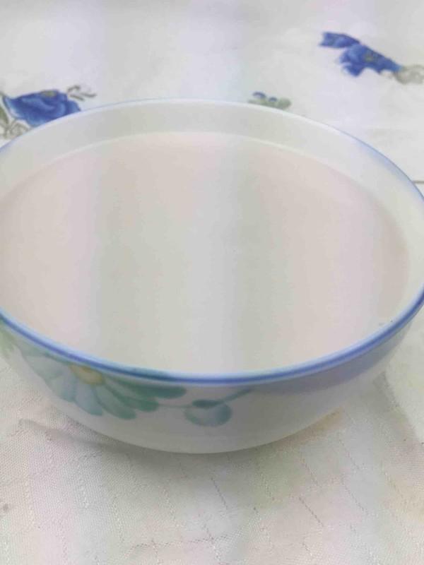 米饭花生米糊成品图