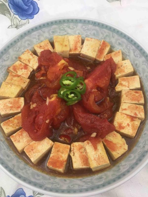番茄炖豆腐怎样炖