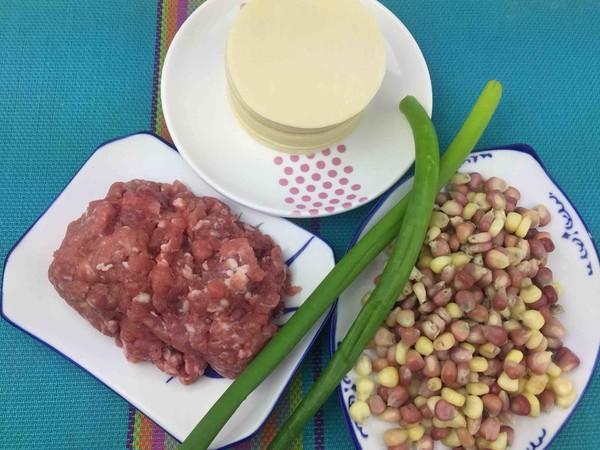 玉米粒猪肉馅饺子的做法大全