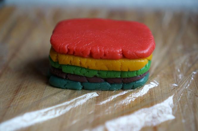 彩虹饼干怎样做