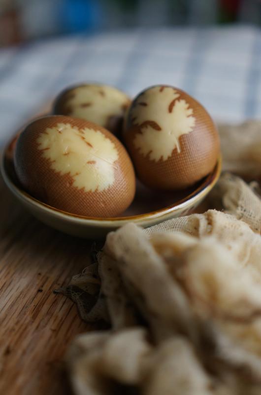 最文艺的茶叶蛋成品图