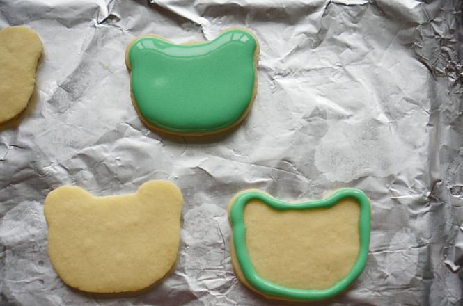 青蛙饼干的制作方法
