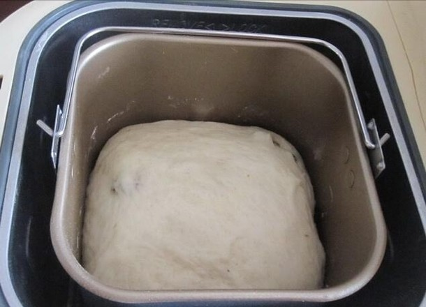 椰蓉豆沙包的做法图解