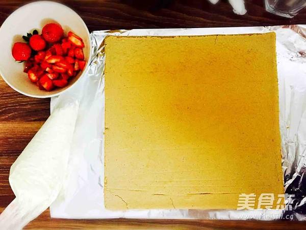 圣诞树根蛋糕的制作
