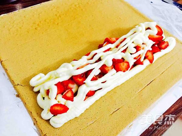 圣诞树根蛋糕的制作方法