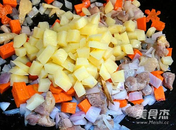 咖喱小兔面包的简单做法
