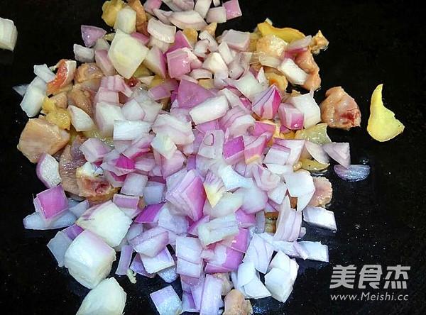 咖喱鸡肉土豆的家常做法