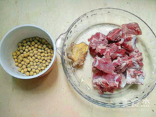 清热消暑~黄豆苦瓜排骨汤的步骤