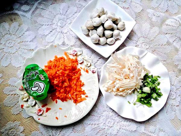 菌菇蔬菜粥的做法图解