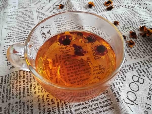 养颜血菊茶的简单做法