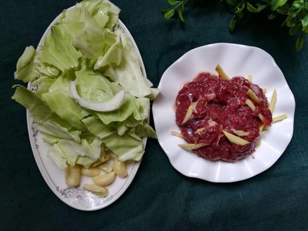 牛肉炒包菜的做法大全