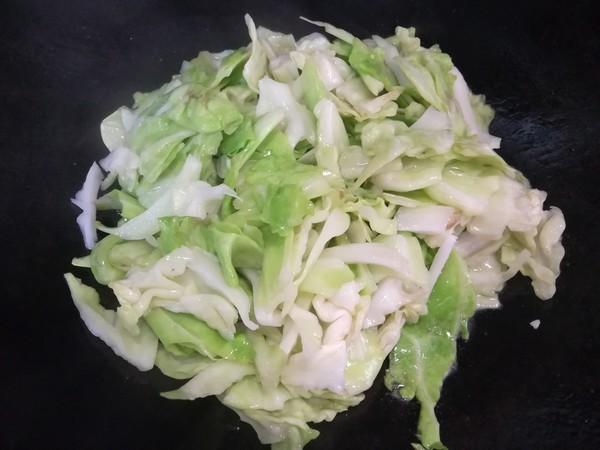 牛肉炒包菜的做法图解