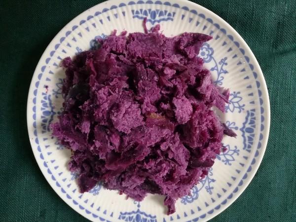 紫薯馒头的做法大全