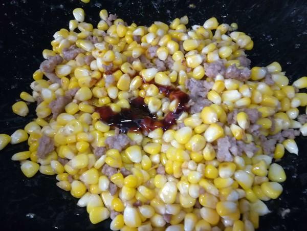 肉末玉米粒怎么做