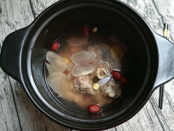 海底椰筒骨汤的简单做法
