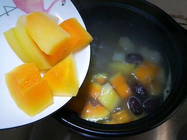 排骨木瓜汤怎么吃