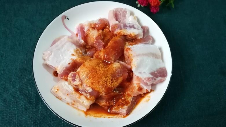 香煎奥尔良五花肉的简单做法