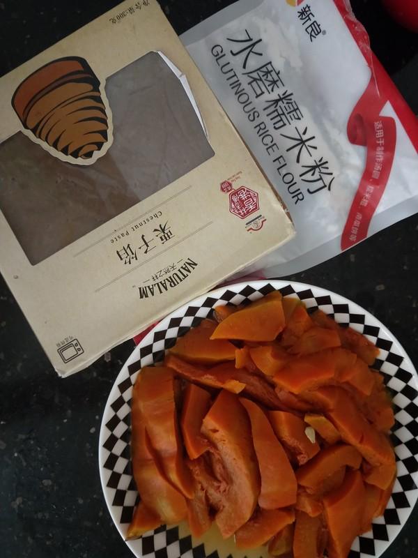 栗子馅南瓜饼的做法大全