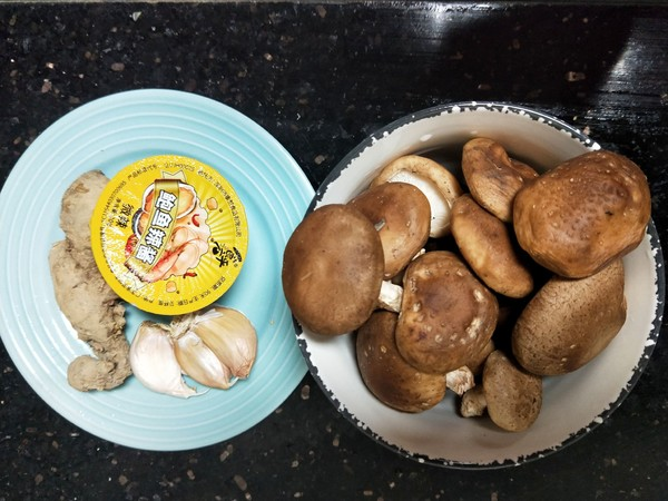 香菇辣酱蒸滑鸡的做法大全