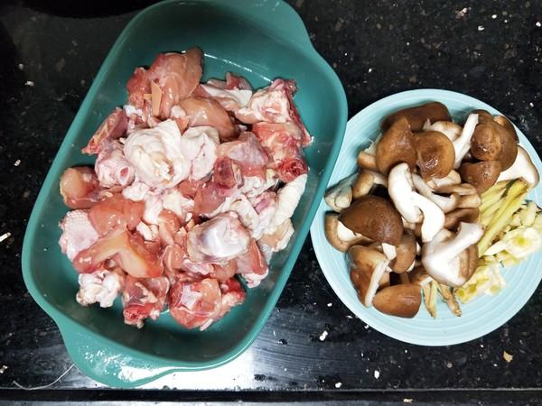 香菇辣酱蒸滑鸡的做法图解