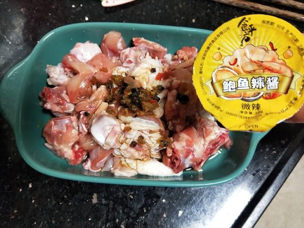香菇辣酱蒸滑鸡怎么吃